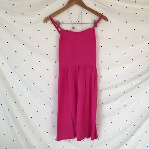 Old Navy Women's Pink Mid Summer Dress